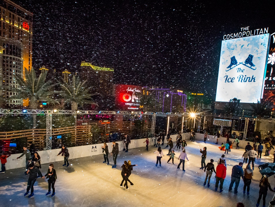 Let It Snow on The Strip Las Vegas Nevada United States