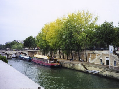 La Seine Riverbank Paris  France