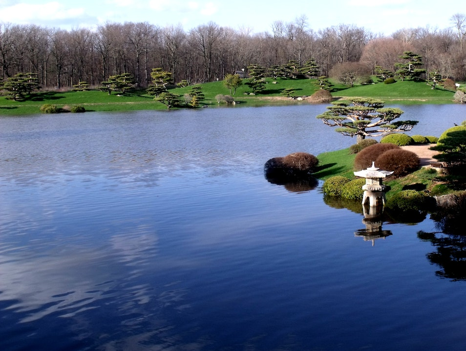 Japanese Gardens in Chicago Deerfield Illinois United States