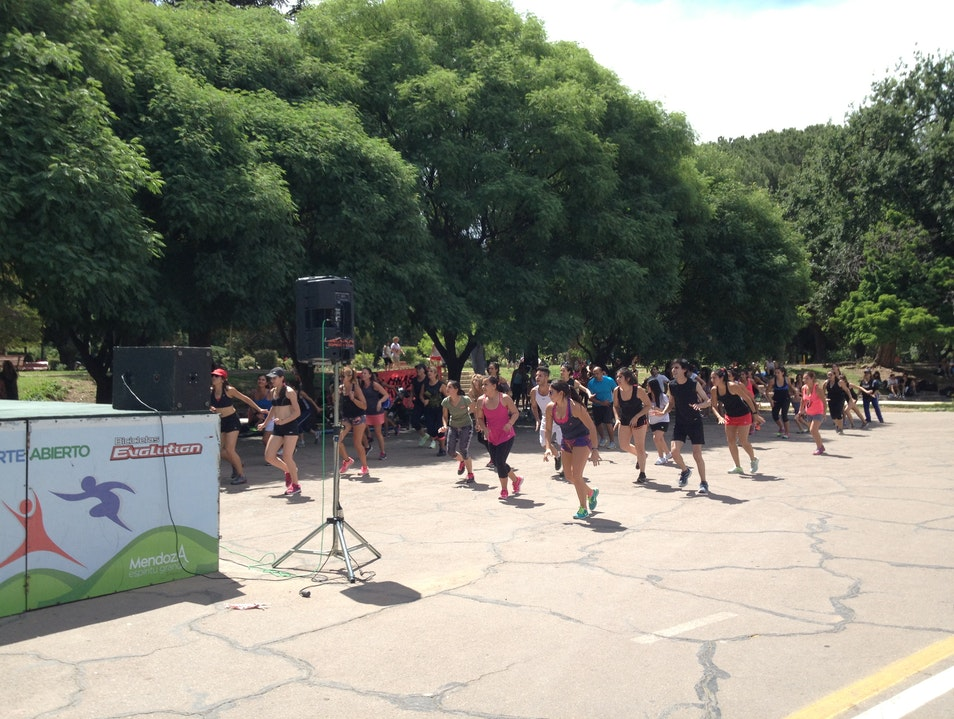 Staying Fit in San Martin Park