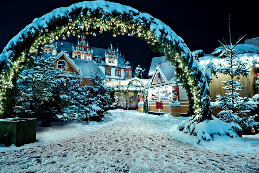 England Christmas Snow.9 Best Christmas Destinations In Europe