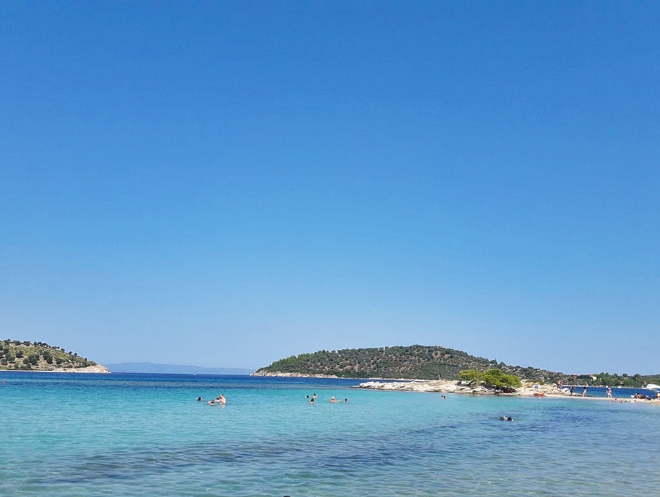 A cool day in the hot summer! Chalkidiki  Greece