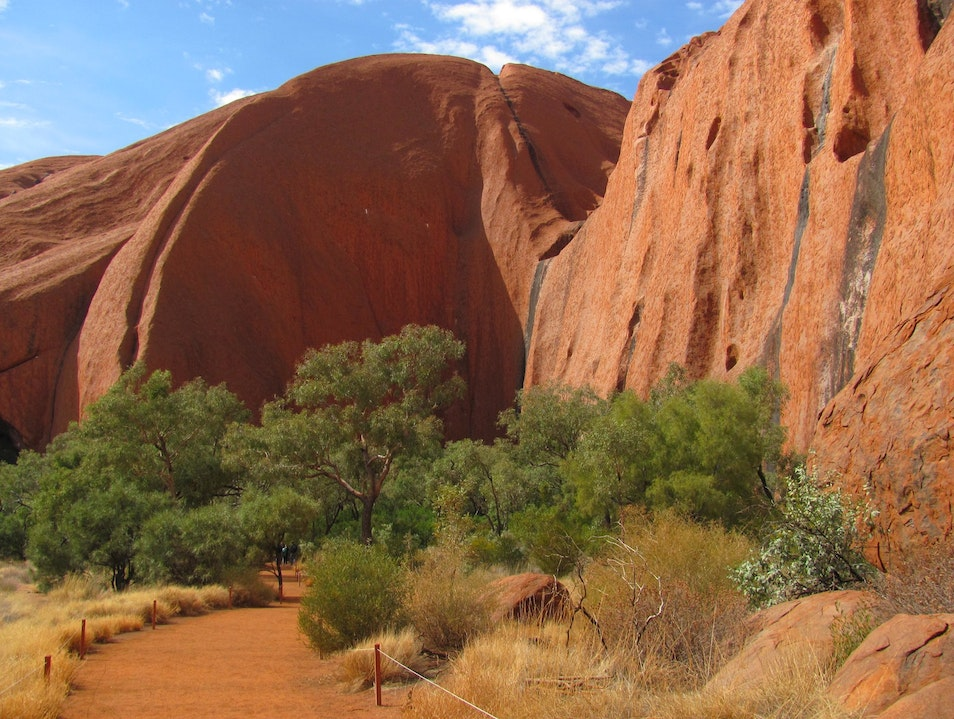 The Mala Walk at Uluru Uluru  Australia