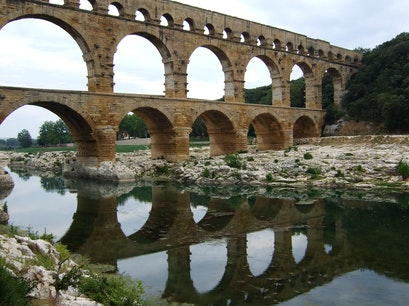 Pont du Gard, France Vers Pont Du Gard  France