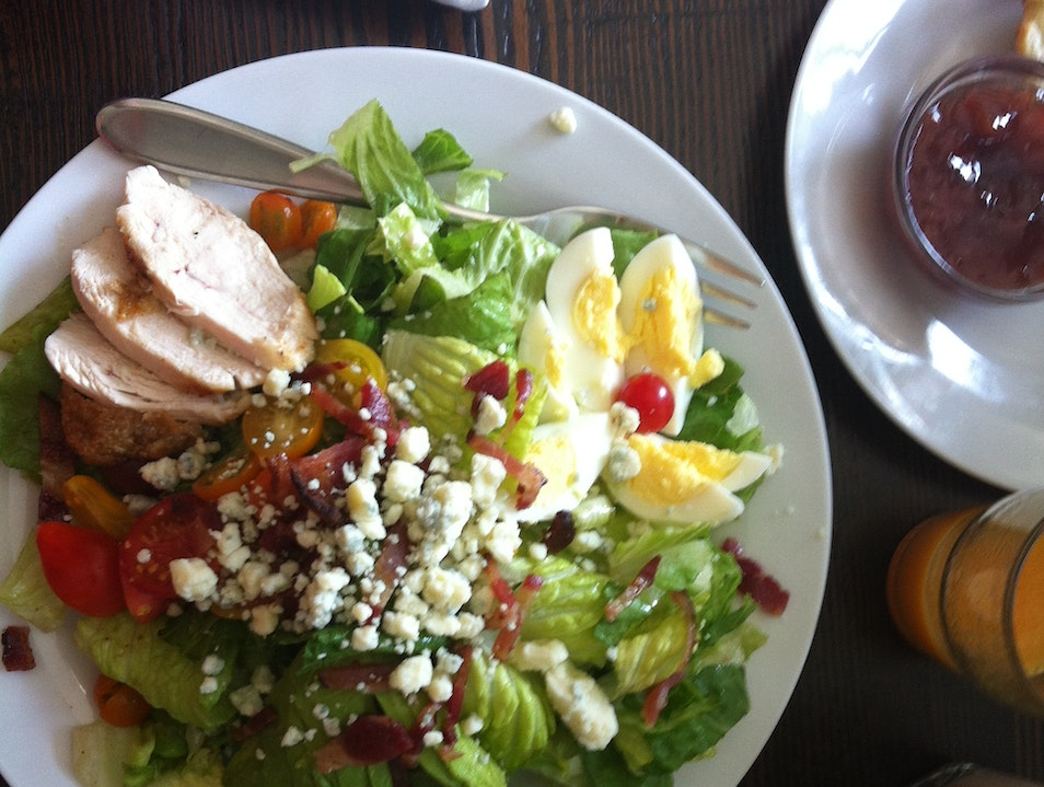 A Perfect Cobb Salad at a New Brunch Spot in Oakland Oakland California United States