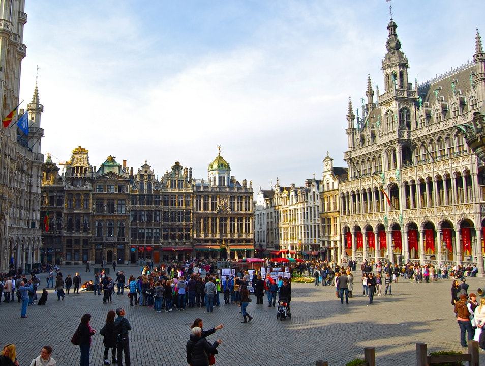 Grand 'Place Brussels  Belgium