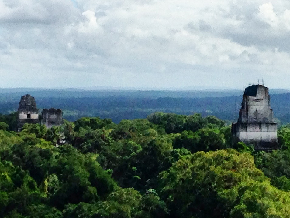 The ruins of Tikal Tikal  Guatemala