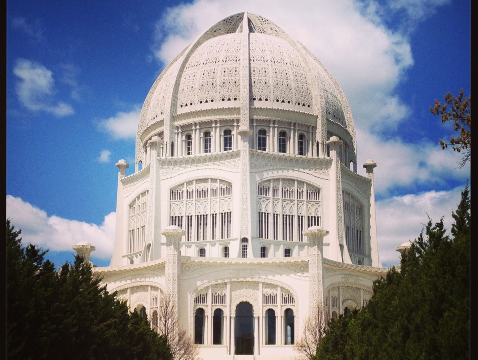 Chicago Off the Beaten Path: The Bahá'í Temple Wilmette Illinois United States
