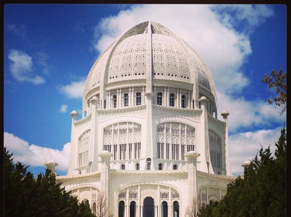 Baha'i House of Worship Wilmette Illinois United States