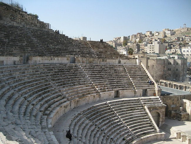 Sit and Imagine Roman Life in the Theater