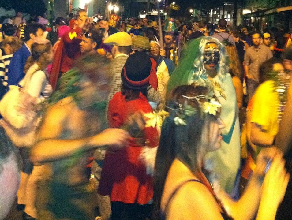 Fat Tuesday in the French Quarter