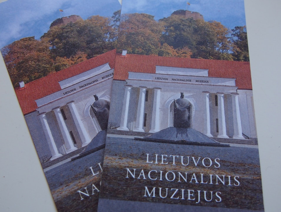 An interesting day at the museum Vilnius  Lithuania