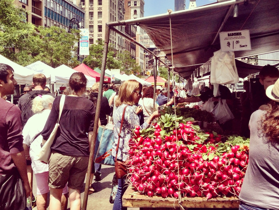 Union Square: From The Farm To Your Table NYC Style  New York New York United States
