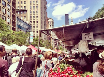 Union Square Artist Market New York New York United States