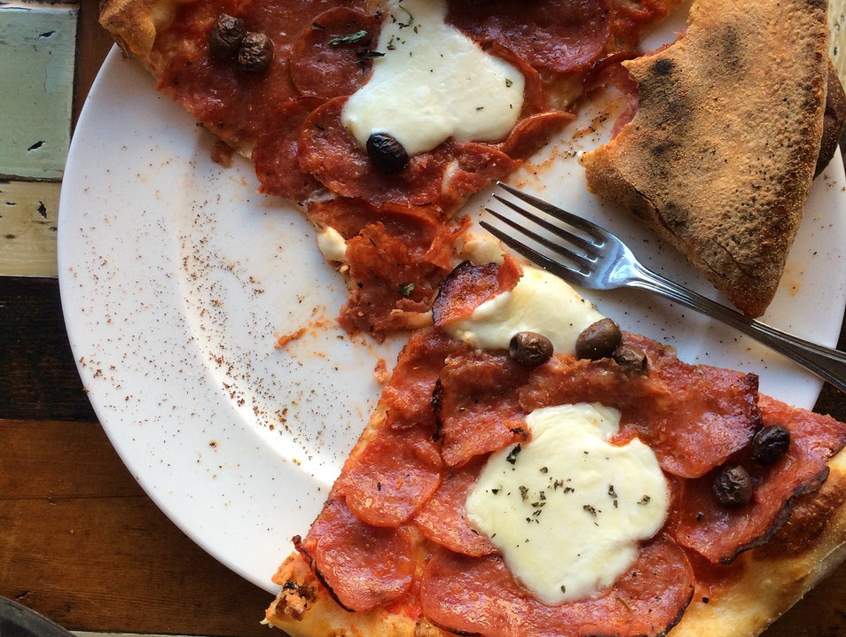 Great Pizza in an unexpected neighborhood
