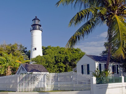 Key West Lighthouse Tower and Keeper's Quarters Museum Key West Florida United States