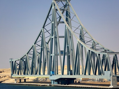Al-Firdan Railway Bridge Al Qantarah Sharq  Egypt
