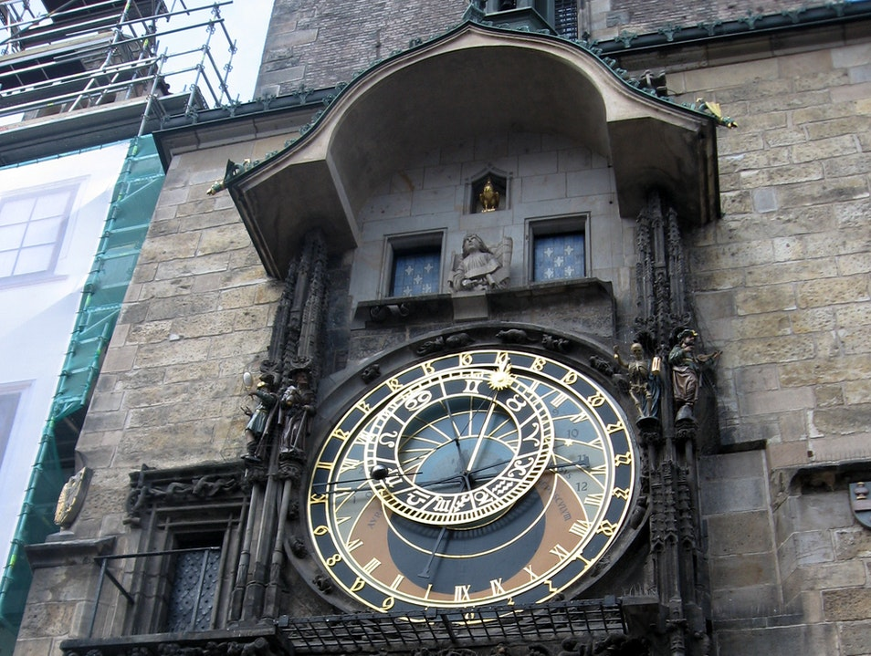 Oldest Astronomical Clock in the World Prague  Czech Republic
