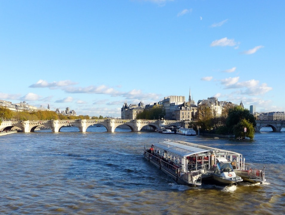 Going in Seine in Paris Paris  France