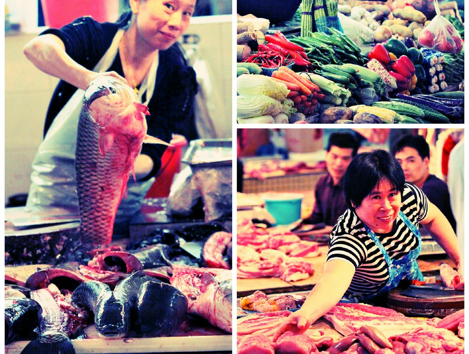 Buying Groceries Like a Local Shenzhen  China