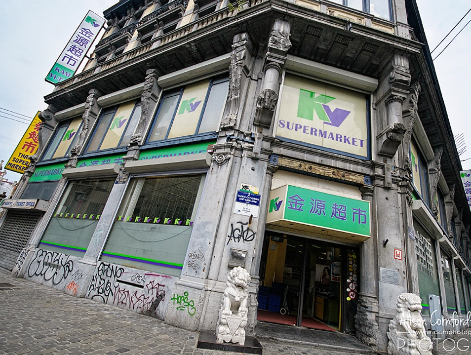 A Quirky Asian Supermarket in the Heart of Brussels Brussels  Belgium