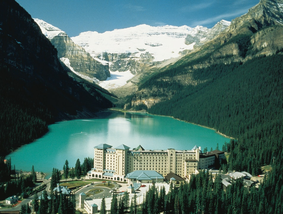 Fairmont Chateau Lake Louise, Alberta   Canada