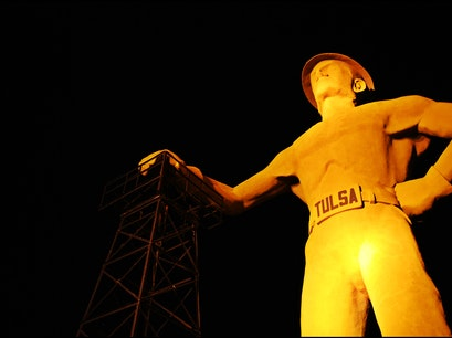 Golden Driller Tulsa Oklahoma United States