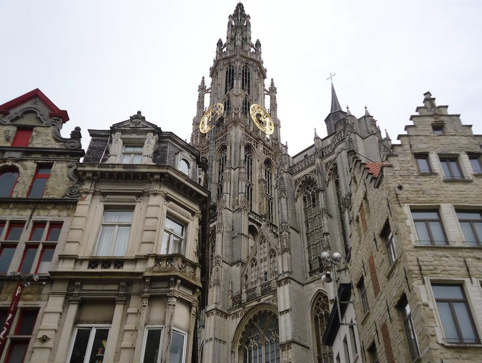 A Cathedral in the Mix Antwerp  Belgium