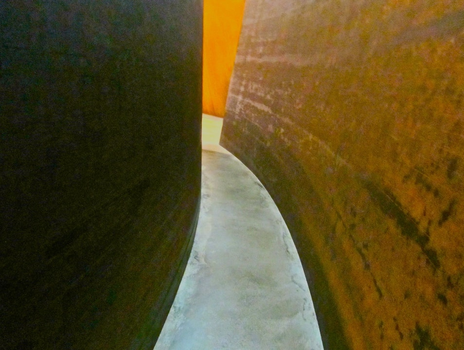 Losing yourself in Richard Serra, Guggenheim Bilbao  Spain