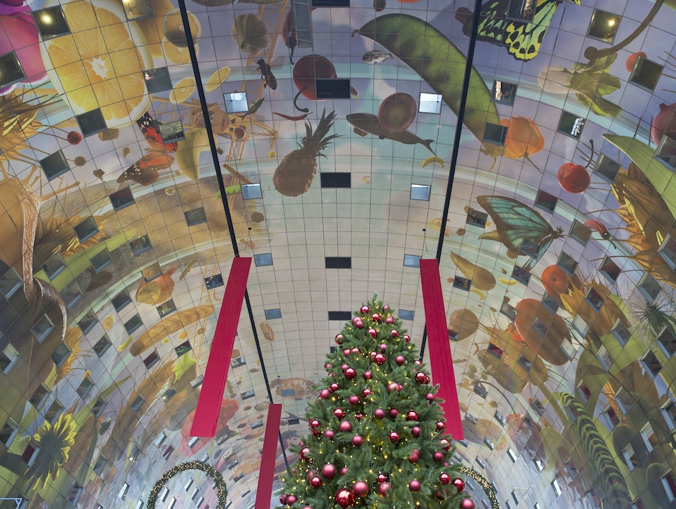 Markthal: Marvel While You Munch Rotterdam  The Netherlands