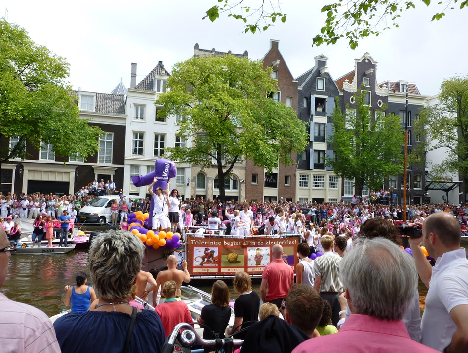 Pride Festival in Amsterdam Amsterdam  The Netherlands