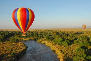 Hot-Air-Balloon Ride in the Masai Mara