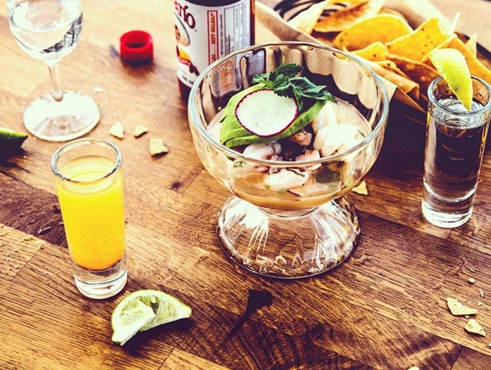 Rooftop Drinks and Latin Street Food at El Techo