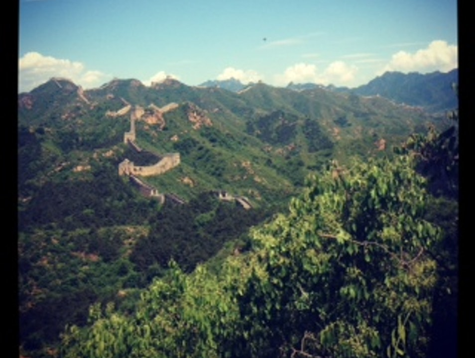 Wanginglou Tower Section,  Great Wall of China Beijing  China