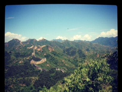 Jinshan Ridge Great Wall Beijing  China