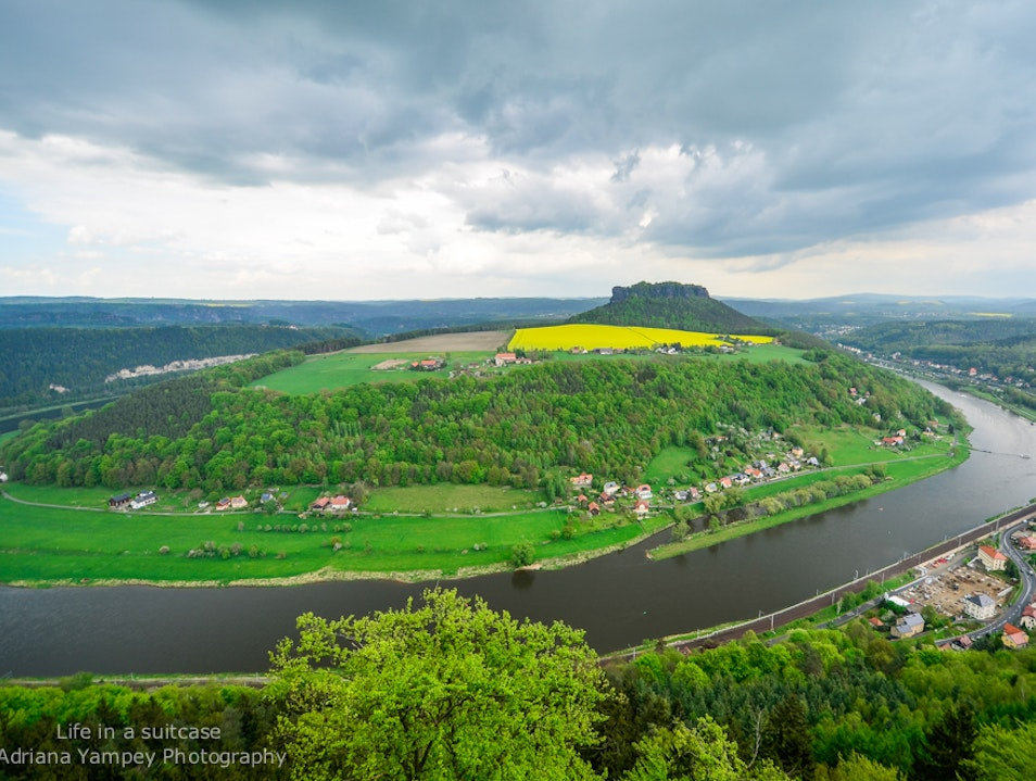 Fortress with a view Königstein  Germany