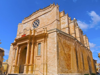 Cathedral of Minorca Menorca  Spain