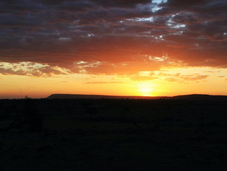 Stop and enjoy the sunset Maasai Mara National Reserve  Kenya