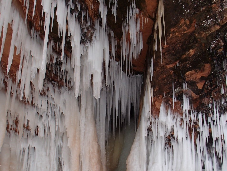 Apostle Islands Ice Caves La Pointe Wisconsin United States