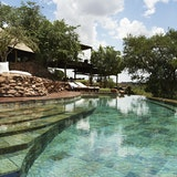 Pools at Faru Faru Lodge