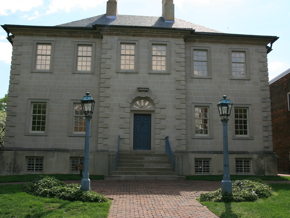 Mercy Street comes to life at Carlyle House Alexandria Virginia United States