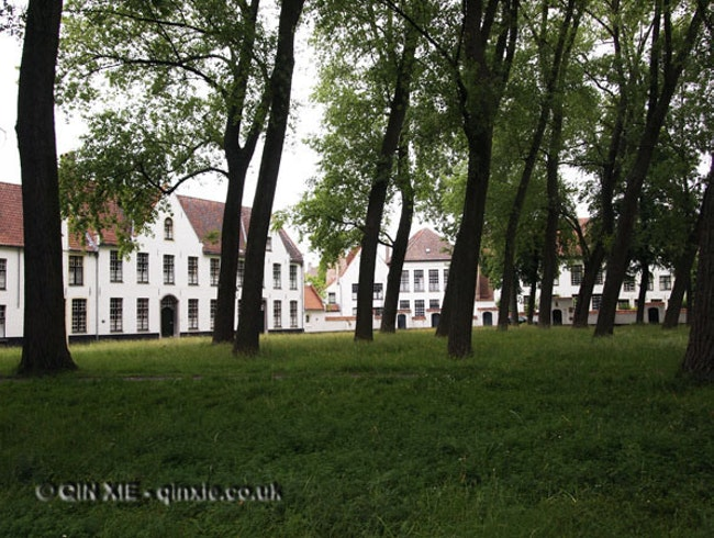 Take a break in a Beguinage