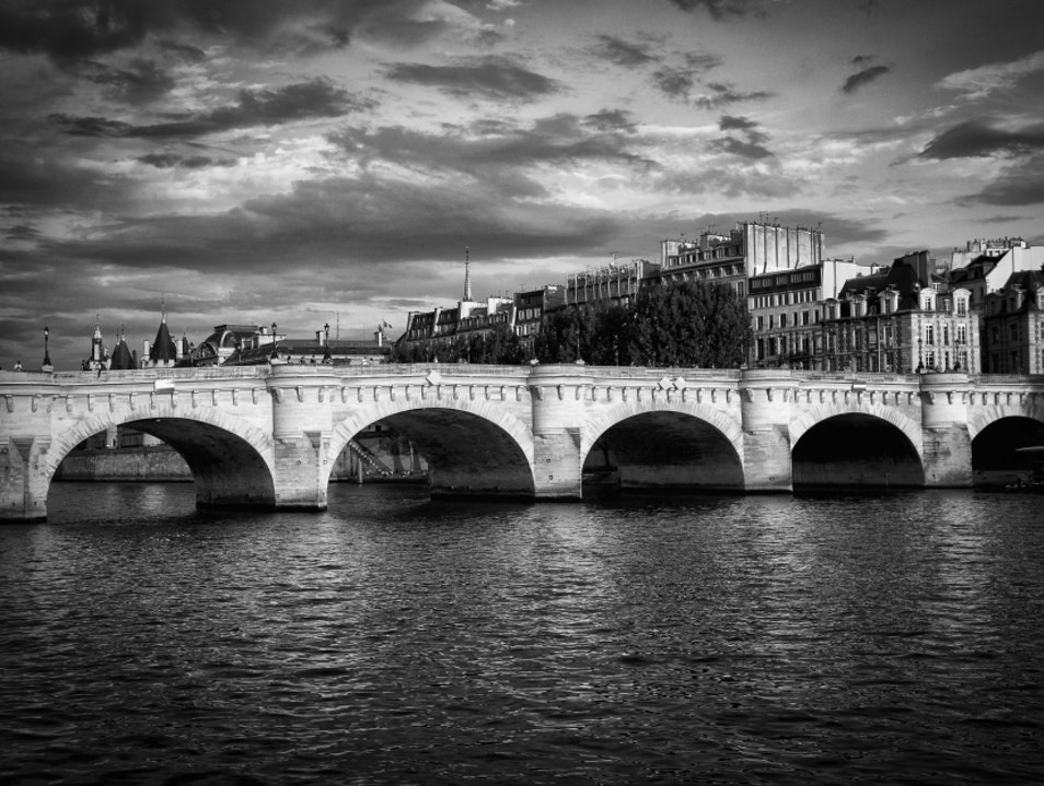 A Relaxing River Journey Paris  France