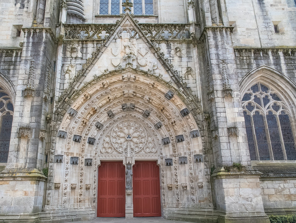 St. Corentin Cathedral   France