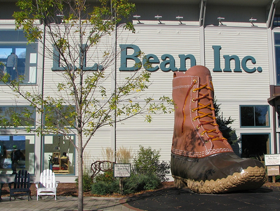 L.L. Bean Freeport Maine United States