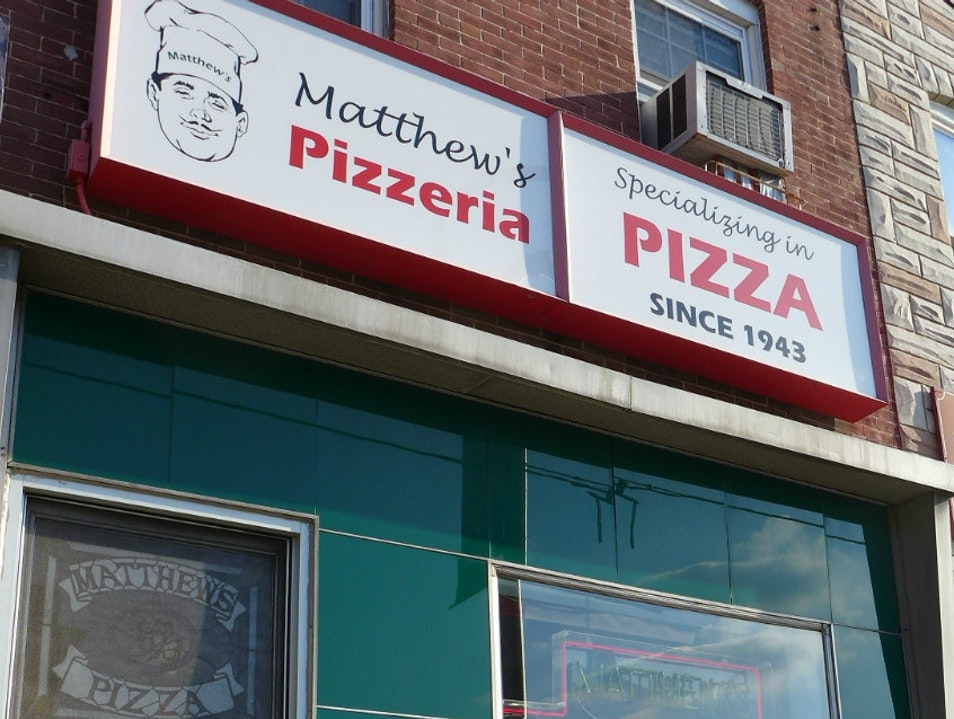 Experience Baltimore's First Pizzeria