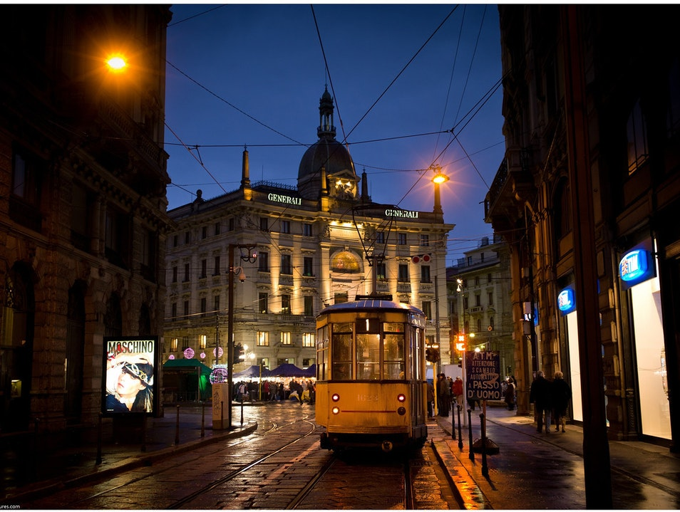 I love trams ::: Milan