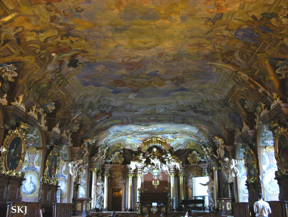 Studying the Ceiling in Wroclaw University