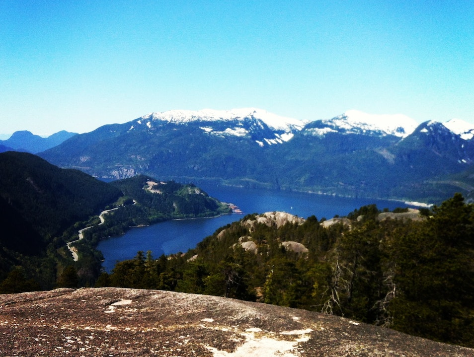 The Stawamus Chief In Squamish Squamish  Canada