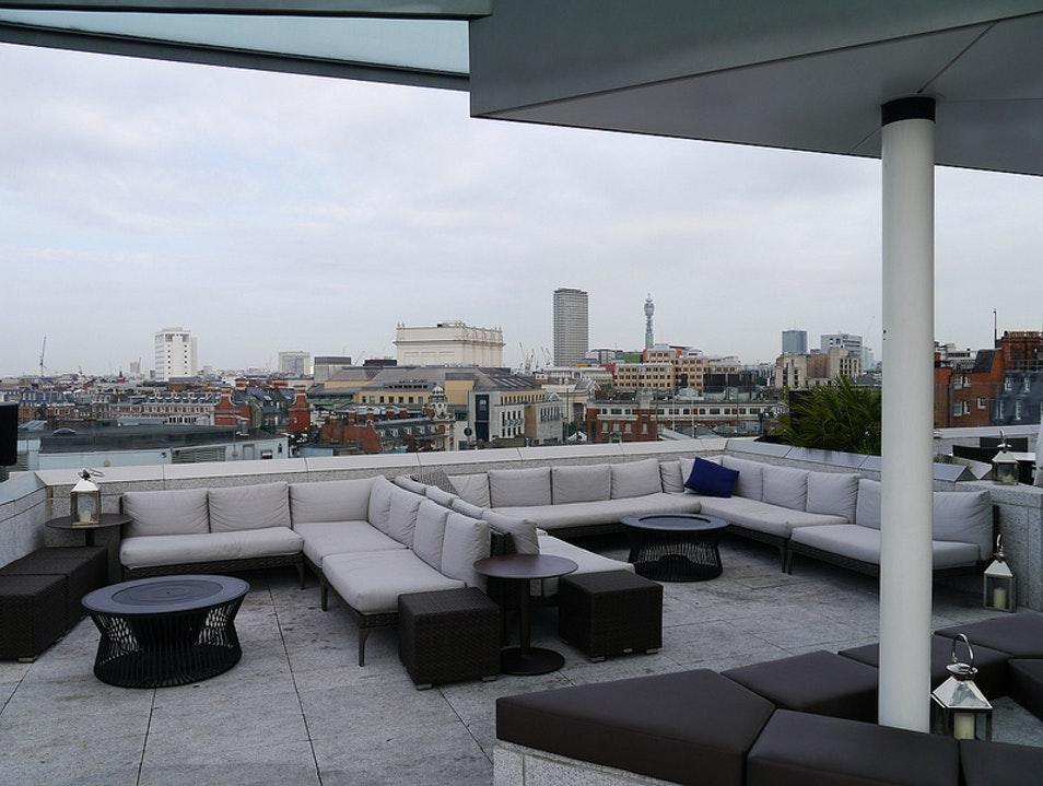 Share a drink at a rooftop bar